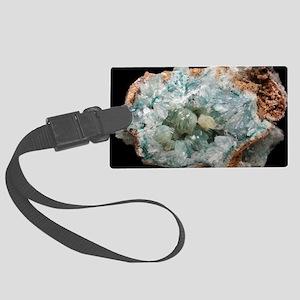 Smithsonite mineral sample Large Luggage Tag