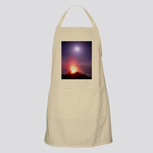 Volcano at night Apron