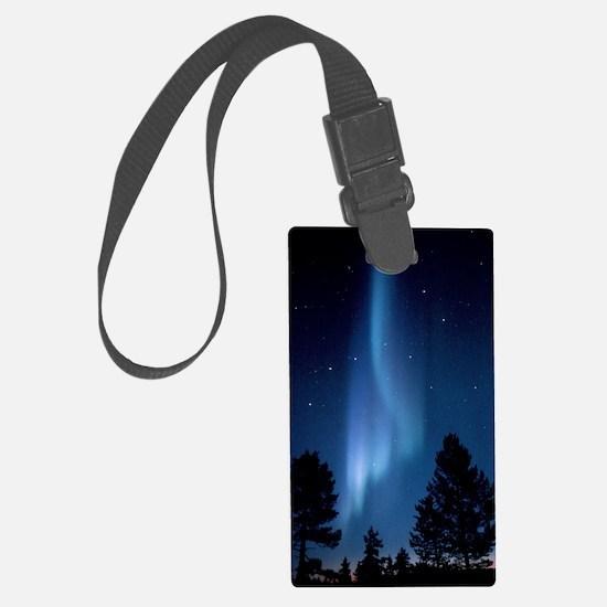 View of an aurora borealis displ Luggage Tag