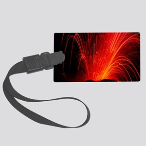 Volcanic eruption Large Luggage Tag