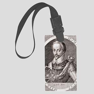 Sir Humphrey Gilbert, English ex Large Luggage Tag