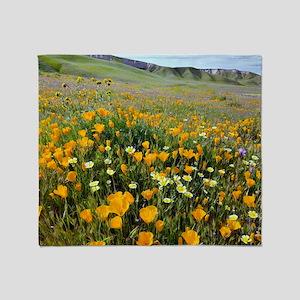 Shell Creek, California Throw Blanket
