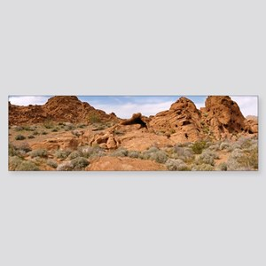 Valley of Fire, Nevada Sticker (Bumper)