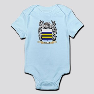 Mello Coat of Arms - Family Crest Body Suit