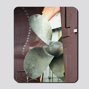Ship's propeller Mousepad