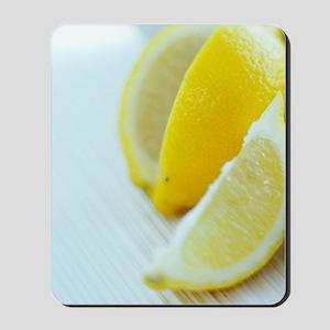 Lemon slices Mousepad