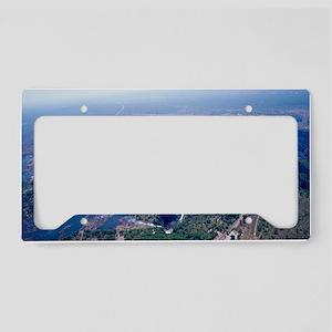Victoria Falls License Plate Holder