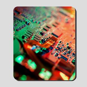 Laptop circuit board Mousepad