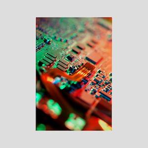 Laptop circuit board Rectangle Magnet