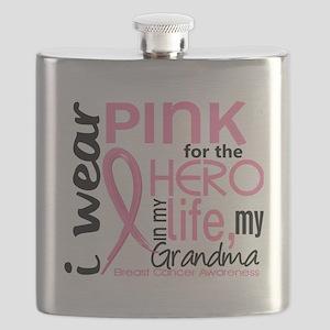 - Hero in My Life 2 Grandma Breast Cancer Flask