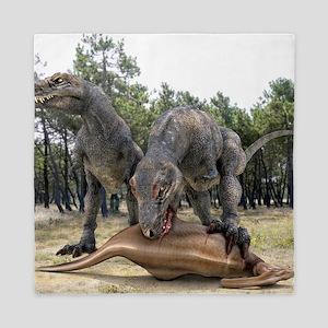 Tyrannosaurus rex dinosaurs Queen Duvet