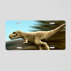 Tyrannosaurus rex dinosaur  Aluminum License Plate