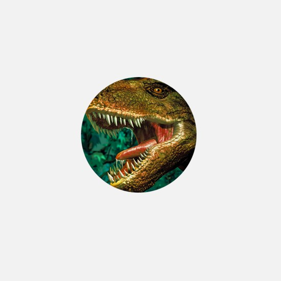 Tyrannosaurus rex dinosaur head Mini Button