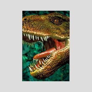 Tyrannosaurus rex dinosaur head Rectangle Magnet