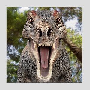 Tyrannosaurus rex dinosaur Tile Coaster