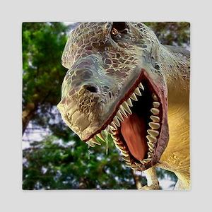 Tyrannosaurus rex dinosaur Queen Duvet