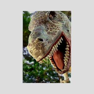 Tyrannosaurus rex dinosaur Rectangle Magnet