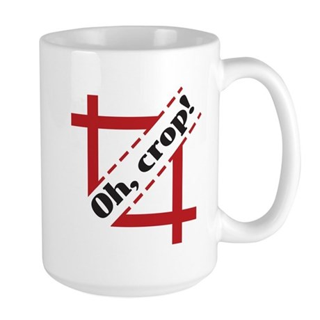 Design and Layout Silent Shouting Mug - Large