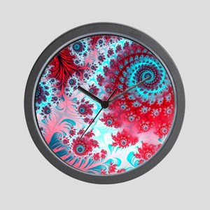 Julia fractal Wall Clock