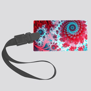 Julia fractal Large Luggage Tag