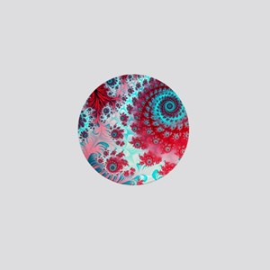 Julia fractal Mini Button