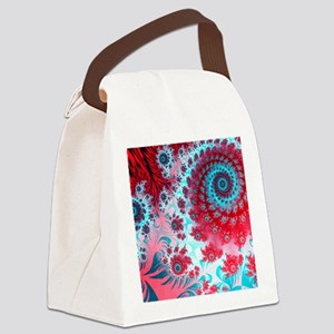 Julia fractal Canvas Lunch Bag