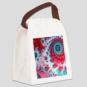 Julia fractal Canvas Lunch Bag