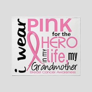 - Hero in My Life 2 Grandmother Brea Throw Blanket