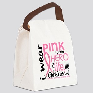 - Hero in My Life 2 Girlfriend Br Canvas Lunch Bag