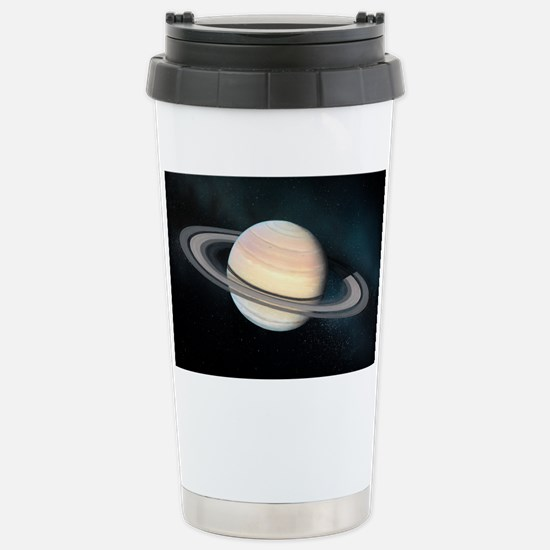 Saturn, artwork Stainless Steel Travel Mug