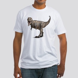 Tyrannosaurus rex dinosaur Fitted T-Shirt
