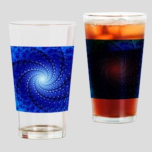 Julia fractal Drinking Glass