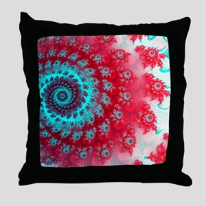 Ju lia fractal Throw Pillow