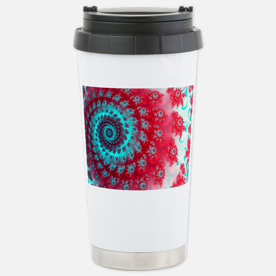 Ju lia fractal Stainless Steel Travel Mug