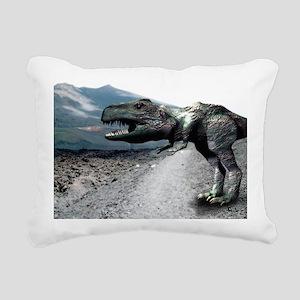 Tyrannosaurus rex Rectangular Canvas Pillow