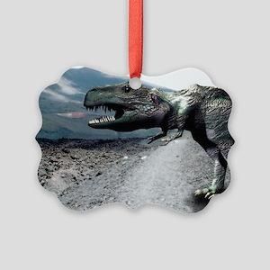Tyrannosaurus rex Picture Ornament