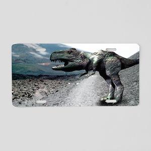 Tyrannosaurus rex Aluminum License Plate