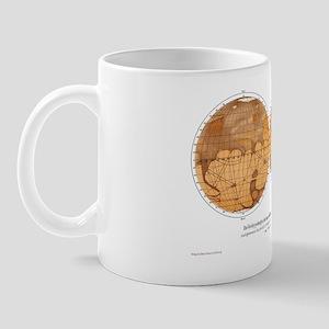 Schiaparelli's map of Mars, 1882-1888 Mug