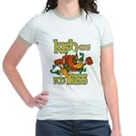 Kish me I'm Iriss Jr. Ringer T-Shirt