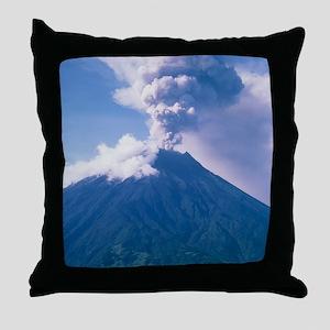 Tunguragua volcano Throw Pillow