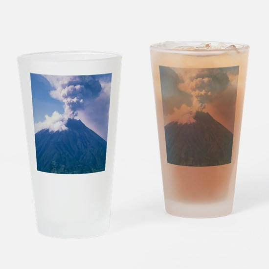 Tunguragua volcano Drinking Glass
