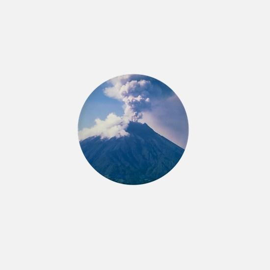 Tunguragua volcano Mini Button