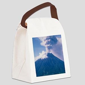 Tunguragua volcano Canvas Lunch Bag