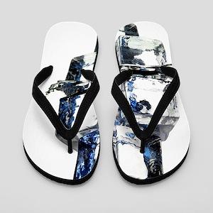 Ice cubes Flip Flops