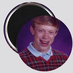 Bad Luck Brian Magnet