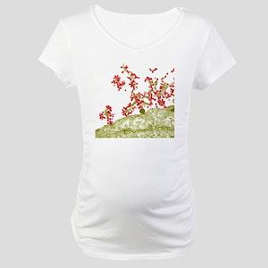 Influenza viruses, TEM Maternity T-Shirt