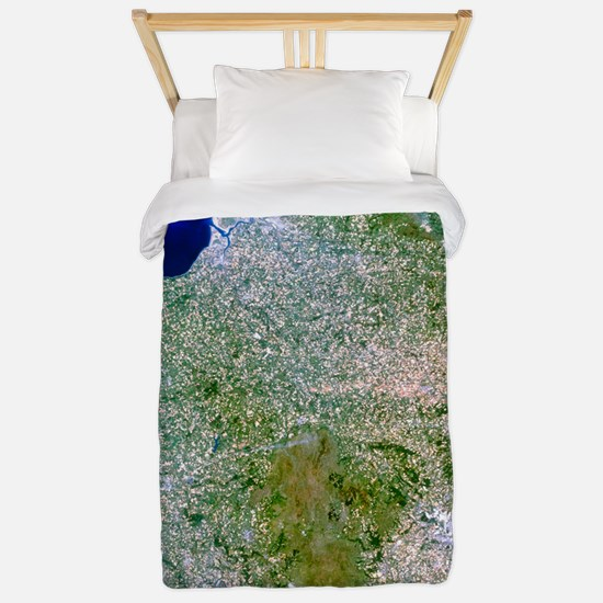 True-colour satellite image of southwes Twin Duvet