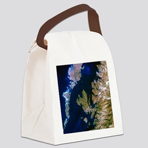 True-colour satellite image of no Canvas Lunch Bag