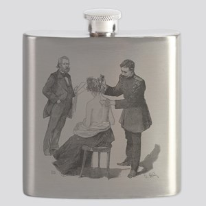 Tuberculosis research, 19th century Flask