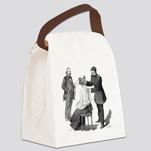 Tuberculosis research, 19th centu Canvas Lunch Bag
